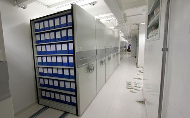 Arquivo deslizante Hospital