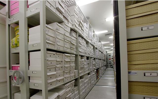 arquivo deslizante deposito